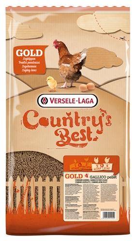 VERSELE-LAGA COUNTRY'S BEST GOLD 4 GALLICO PELLETLEGKORREL