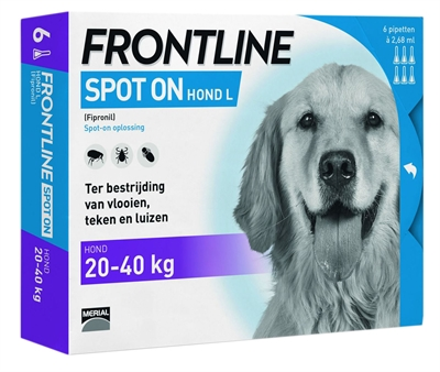FRONTLINE HOND SPOT ON LARGE