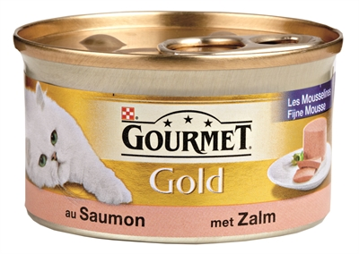 GOURMET GOLD FIJNE MOUSSE ZALM