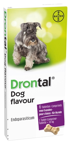 BAYER DRONTAL TASTY ONTWORMING HOND
