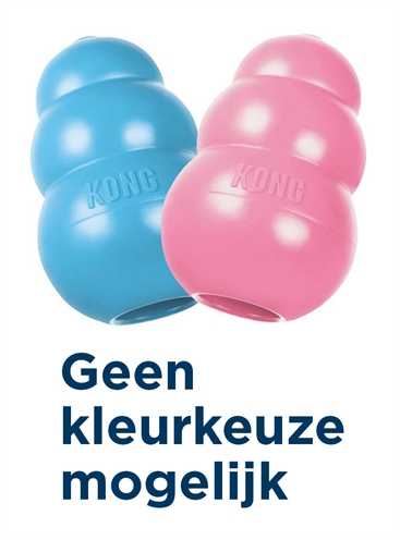 KONG PUPPY ROZE OF BLAUW ASSORTI
