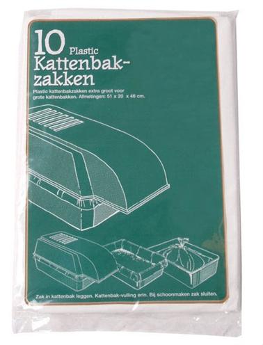 PLASTIC KATTENBAKZAK VOOR EXTRA GROTE KATTENBAKKEN