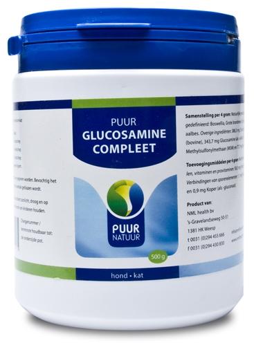 PUUR NATUUR GLUCOSAMINE EXTRA (COMPLEET) VOOR HOND EN KAT