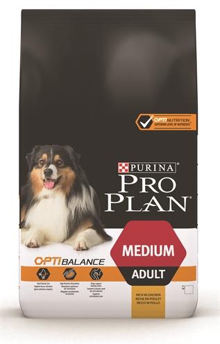 PRO PLAN DOG ADULT MEDIUM KIP/RIJST