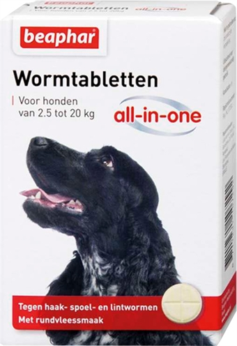 BEAPHAR WORMTABLET ALL-IN-ONE HOND