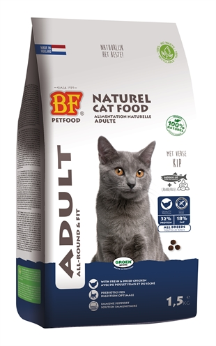 BIOFOOD CAT ADULT ALL-ROUND & FIT