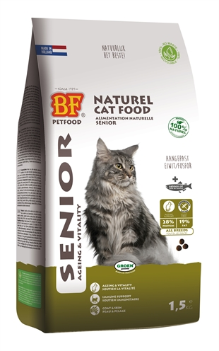 BIOFOOD CAT SENIOR AGEING & SOUPLESSE