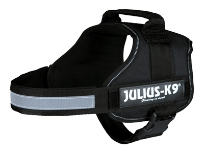 JULIUS K9 POWER-HARNAS / TUIG VOOR LABELS ZWART