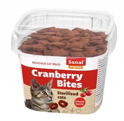 SANAL CAT CRANBERRY & CHICKENBITES CUP