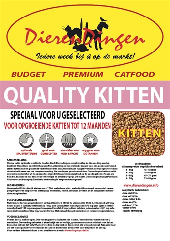 BUDGET PREMIUM CATFOOD QUALITY KITTEN