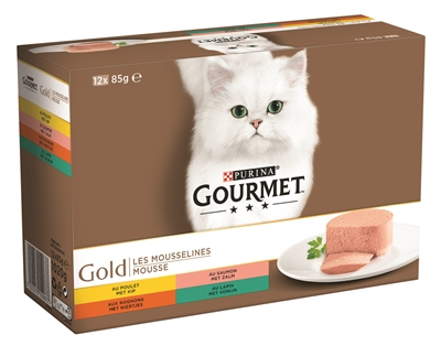 GOURMET GOLD 12-PACK FIJNE MOUSSE