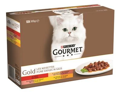 GOURMET GOLD 12-PACK FIJNE HAPJES