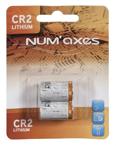 NUMAXES LITHIUM BATTERIJ CR2