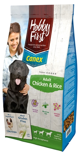 HOBBYFIRST CANEX ADULT CHICKEN & RICE