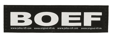 JULIUS K9 LABELS VOOR POWER-HARNAS/TUIG BOEF