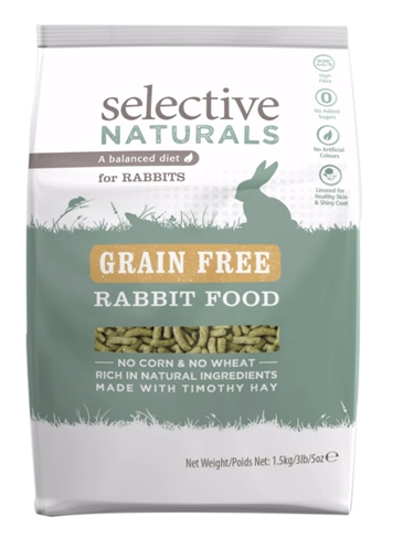 SUPREME SCIENCE SELECTIVE NATURALS RABBIT GRAANVRIJ