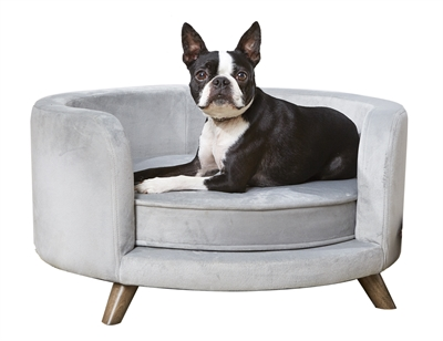 ENCHANTED HONDENMAND SOFA ROSIE GRIJS