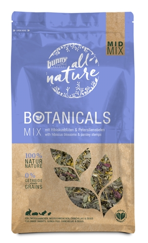 BUNNY NATURE BOTANICALS MIDI MIX HIBISCUSBLOESEM / PETERSELIE STELEN