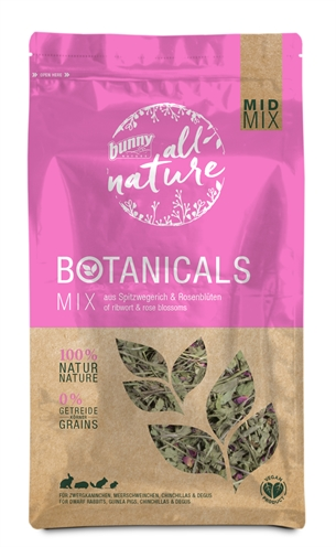 BUNNY NATURE BOTANICALS MIDI MIX SMALLE WEEGBREE / ROZENBLOESEM