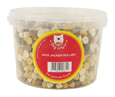 DOG TREATZ JACK JACKERS ROLLIES MIX