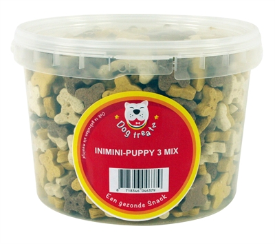 DOG TREATZ INIMINI PUPPY 3 MIX