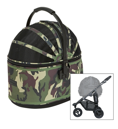AIRBUGGY HONDENBUGGY COT S PLUS MET REM CAMOUFLAGE