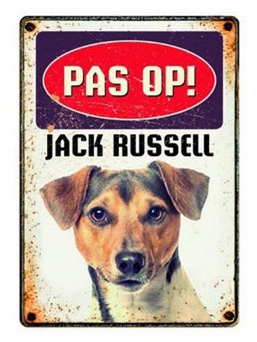 PLENTY GIFTS WAAKBORD BLIK JACK RUSSELL