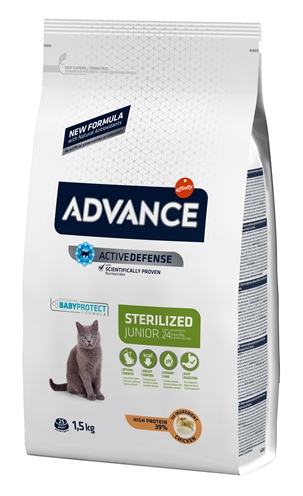 ADVANCE CAT JUNIOR STERILISED CHICKEN