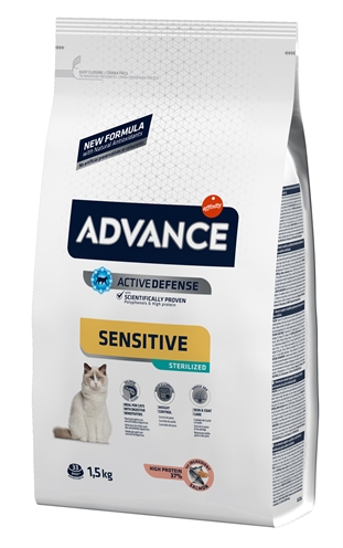 ADVANCE CAT STERILIZED SENSITIVE SALMON