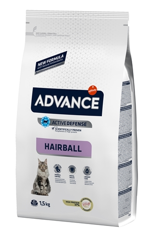 ADVANCE CAT HAIRBALL TURKEY / RICE