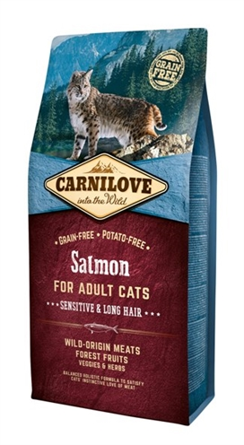 CARNILOVE SALMON SENSITIVE / LONG HAIR