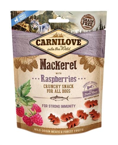 CARNILOVE CRUNCHY SNACK MAKREEL / FRAMBOOS