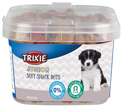 TRIXIE JUNIOR SOFT SNACK DOTS MET OMEGA-3