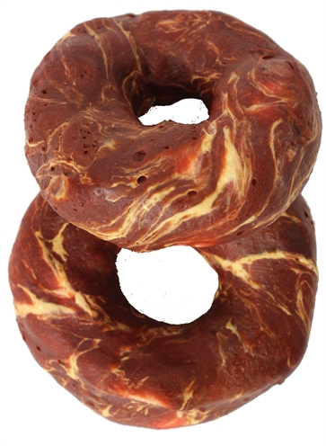 TRIXIE DENTA FUN MARBLED BEEF CHEWING RING