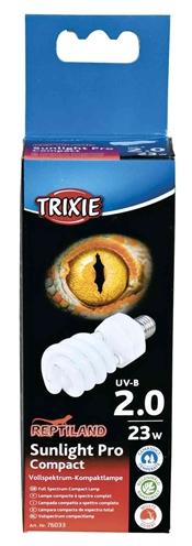 TRIXIE REPTILAND SUNLIGHT PRO COMPACT 2.0 UV-B LAMP