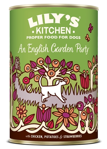 LILY'S KITCHEN DOG AN ENGLISH GARDEN PARTY