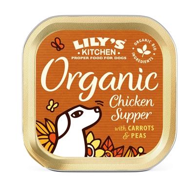 LILY'S KITCHEN DOG ORGANIC CHICKEN SUPPER