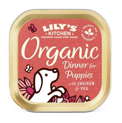 LILY'S KITCHEN DOG PUPPY ORGANIC DINNER