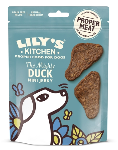 LILY'S KITCHEN DOG THE MIGHTY DUCK MINI JERKY