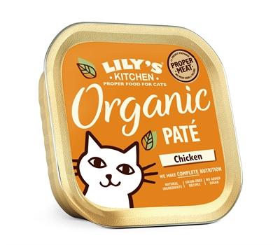 LILY'S KITCHEN CAT ORGANIC CHICKEN DINNER