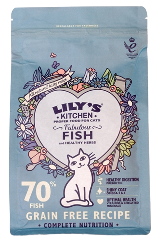 LILY'S KITCHEN CAT FISHERMAN'S FEAST FISH