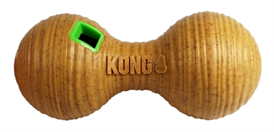 KONG BAMBOO FEEDER DUMBBEL VOERBAL