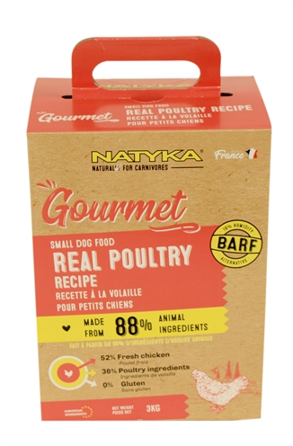 NATYKA GOURMET ADULT SMALL BREED POULTRY