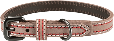 TRIXIE HALSBAND HOND NATIVE LEER CAPPUCCINO