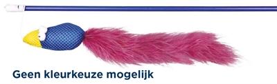 TRIXIE SPEELHENGEL VOGEL KUNSTSTOF / STOF / PLUCHE MET CATNIP ASSORTI