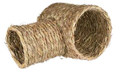 TRIXIE TUNNEL MET VERTAKKING KONIJN GRAS