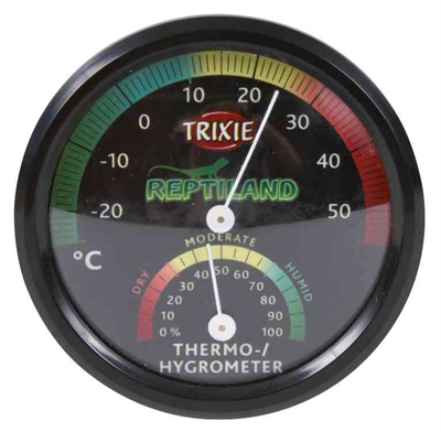 TRIXIE REPTILAND THERMOMETER / HYGROMETER ANALOOG