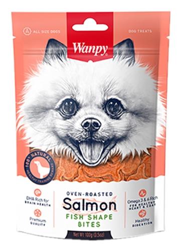 WANPY OVEN-ROASTED SALMON FISH SHAPE BITES