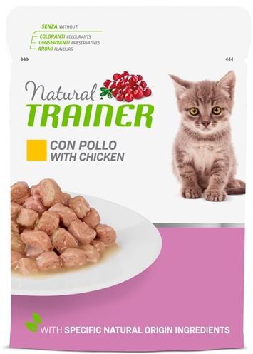 NATURAL TRAINER CAT KITTEN / JUNIOR CHICKEN POUCH