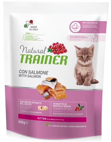 NATURAL TRAINER CAT KITTEN SALMON